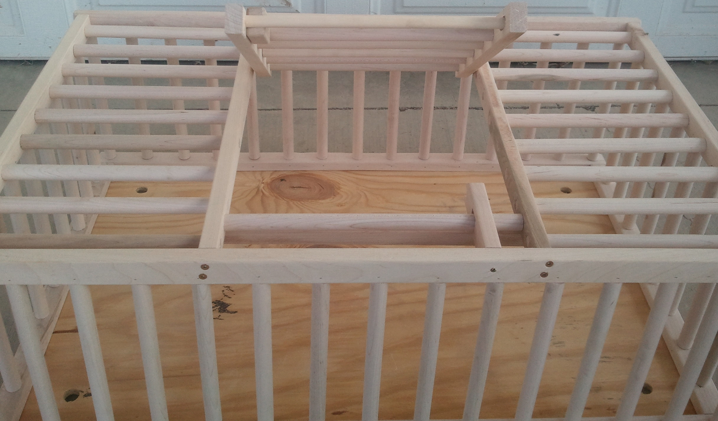 Wooden chicken crates badger 39 s millside farm for Wooden chicken crate plans